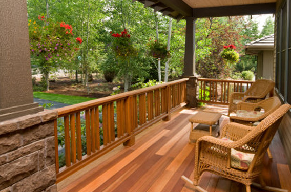 Spotted Gum Timber Decking